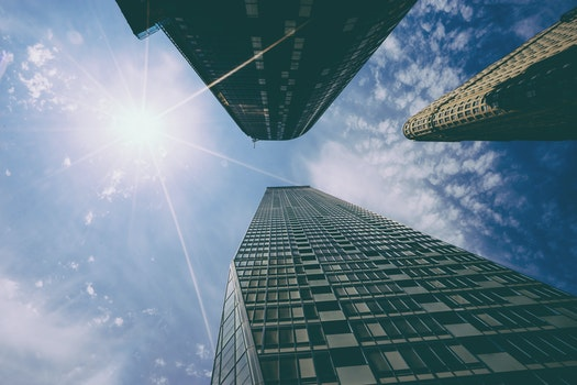Free stock photo of sky, buildings, architecture, windows