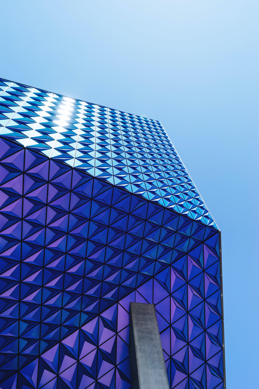 Blue Glass Bulding