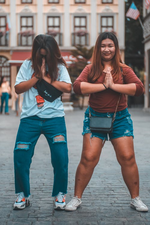 asiatisk, asiatiska människor, fotografering