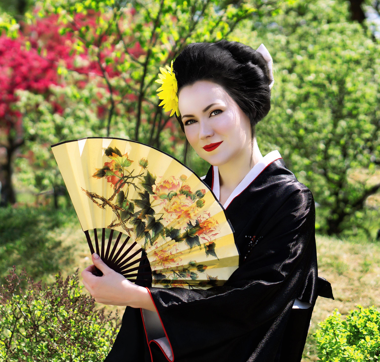 Free stock photo of woman, Japanese, japan, kimono