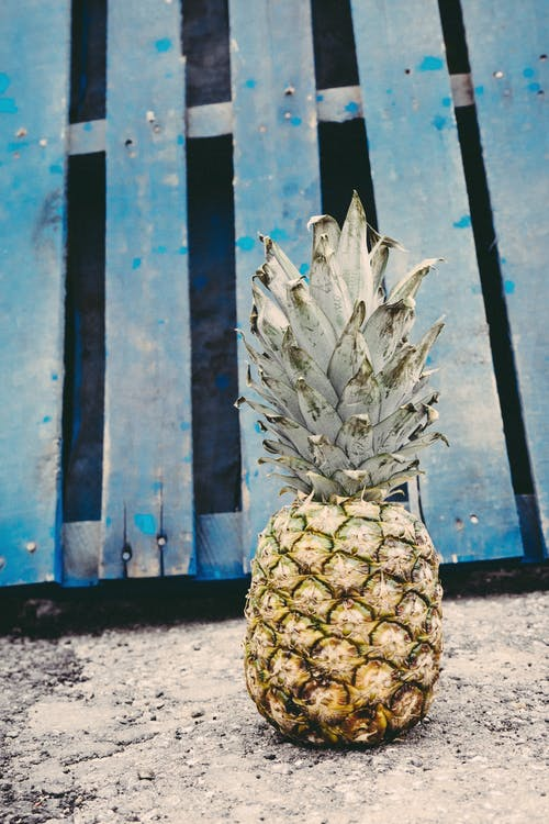 Standing Pineapple Outdoors