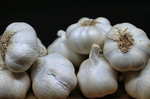 Free stock photo of black, chinese onion, clove, garlics
