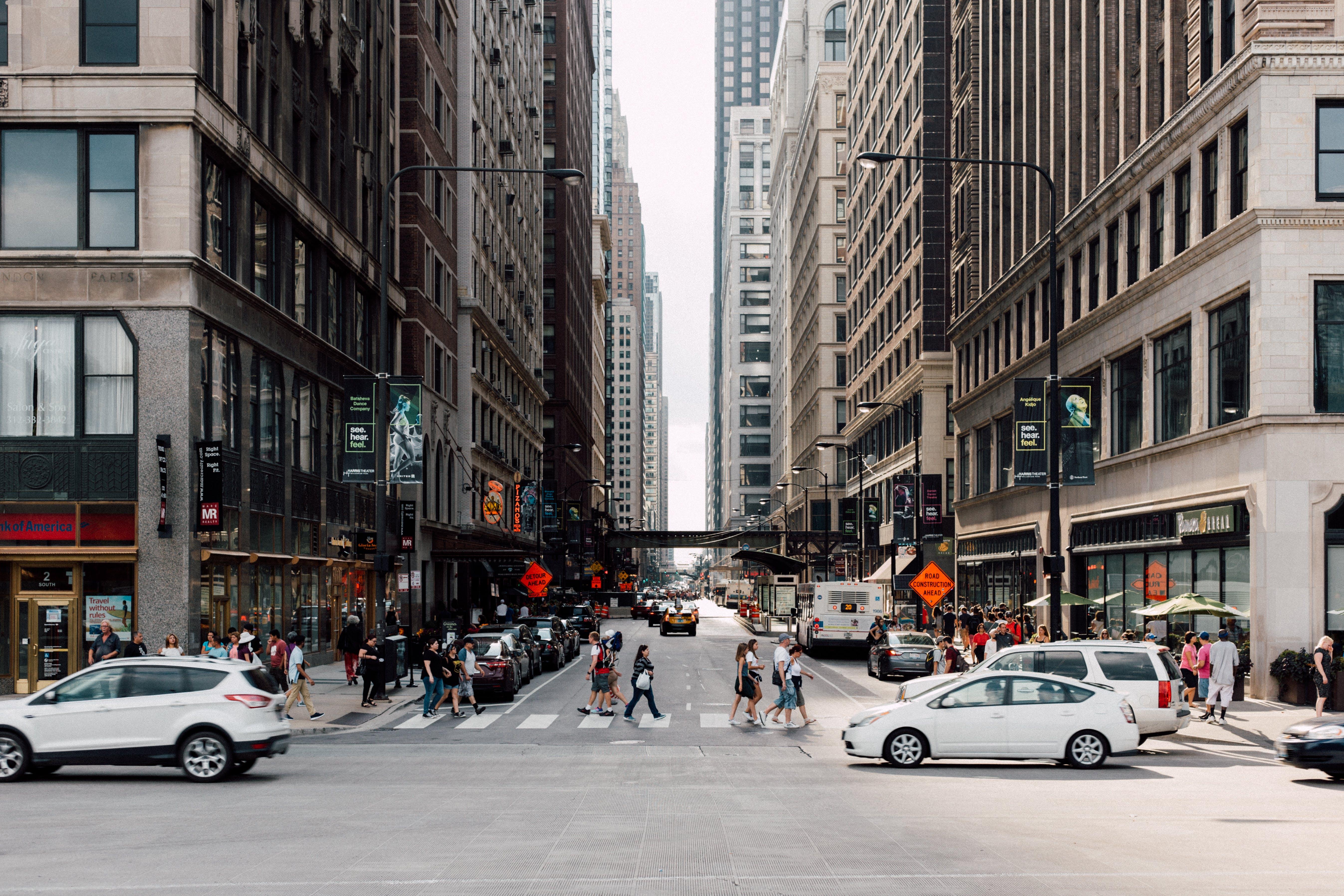 人群, 企業, 城市, 外觀 的 免费素材照片