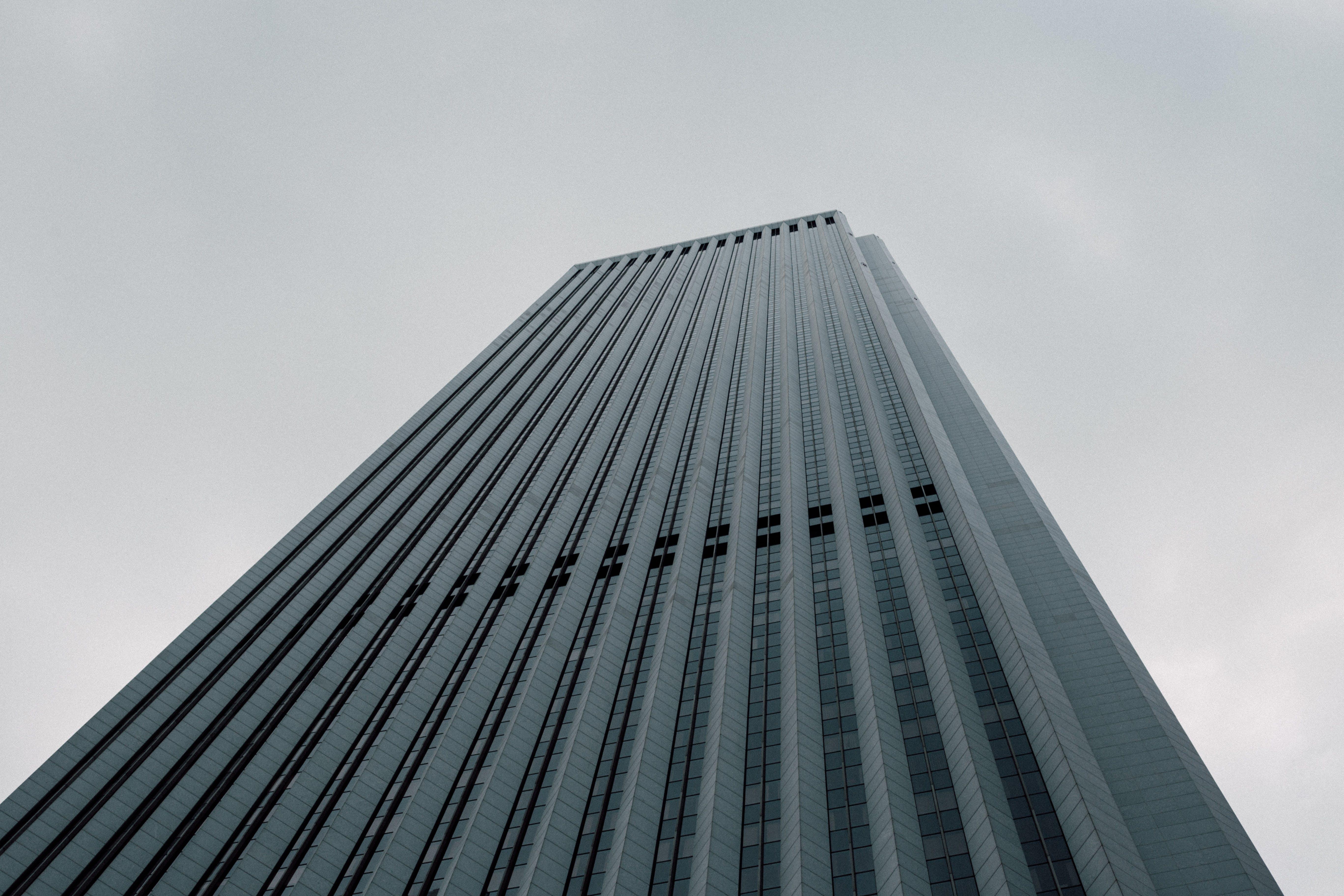 Immagine gratuita di acciaio, architettura, articoli di vetro, centro città