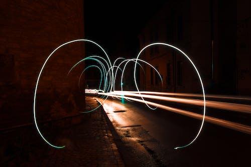 #lighttrail içeren Ücretsiz stok fotoğraf