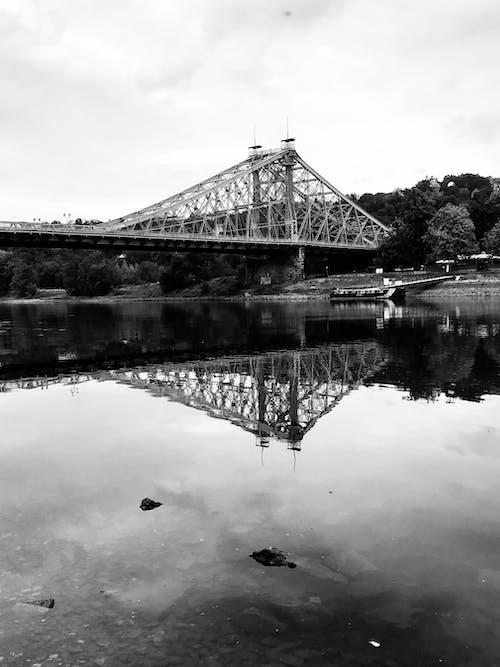 橋, 黑與白 的 免費圖庫相片