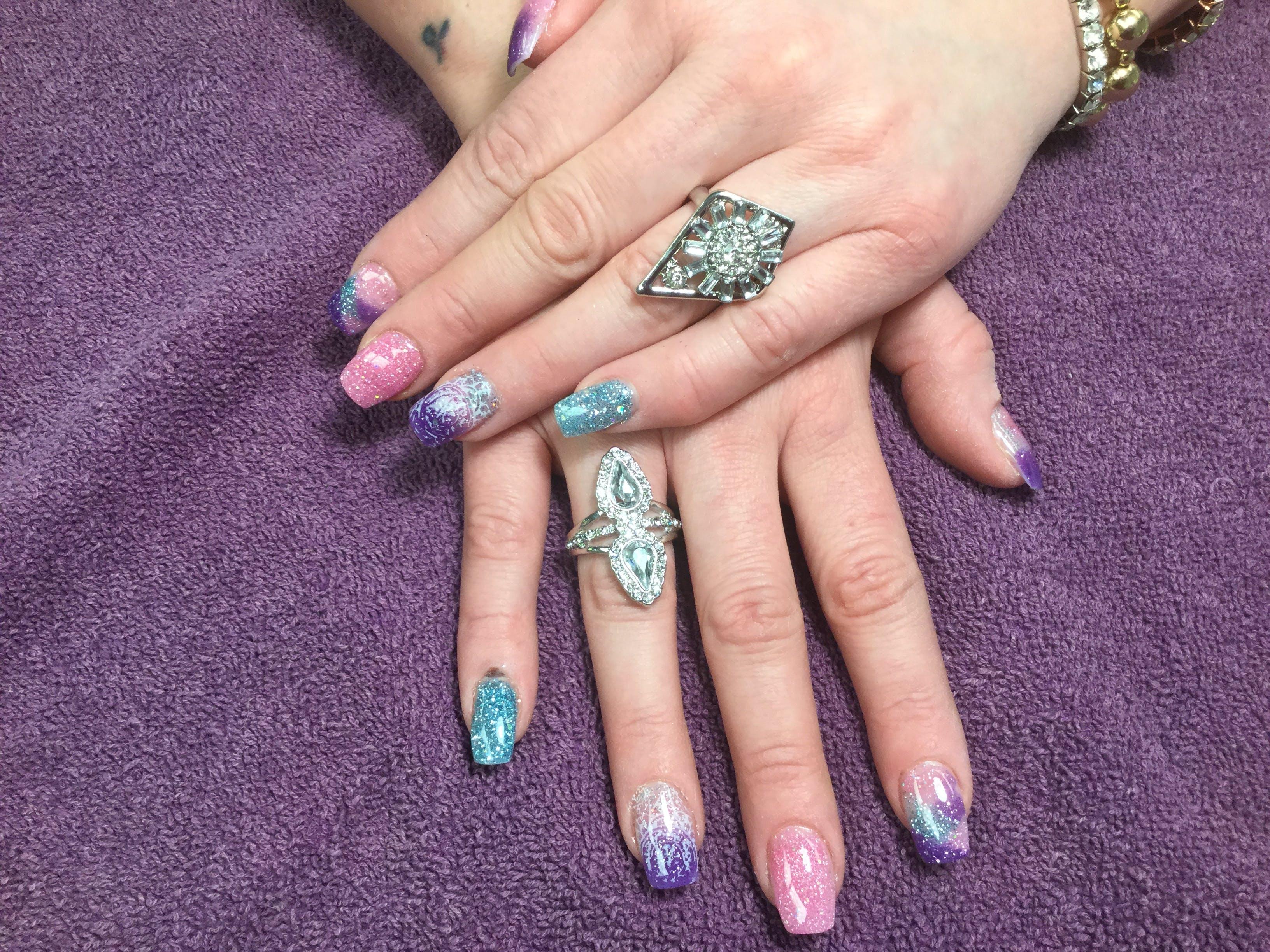 Free stock photo of #notacrylic #naildipping #nails