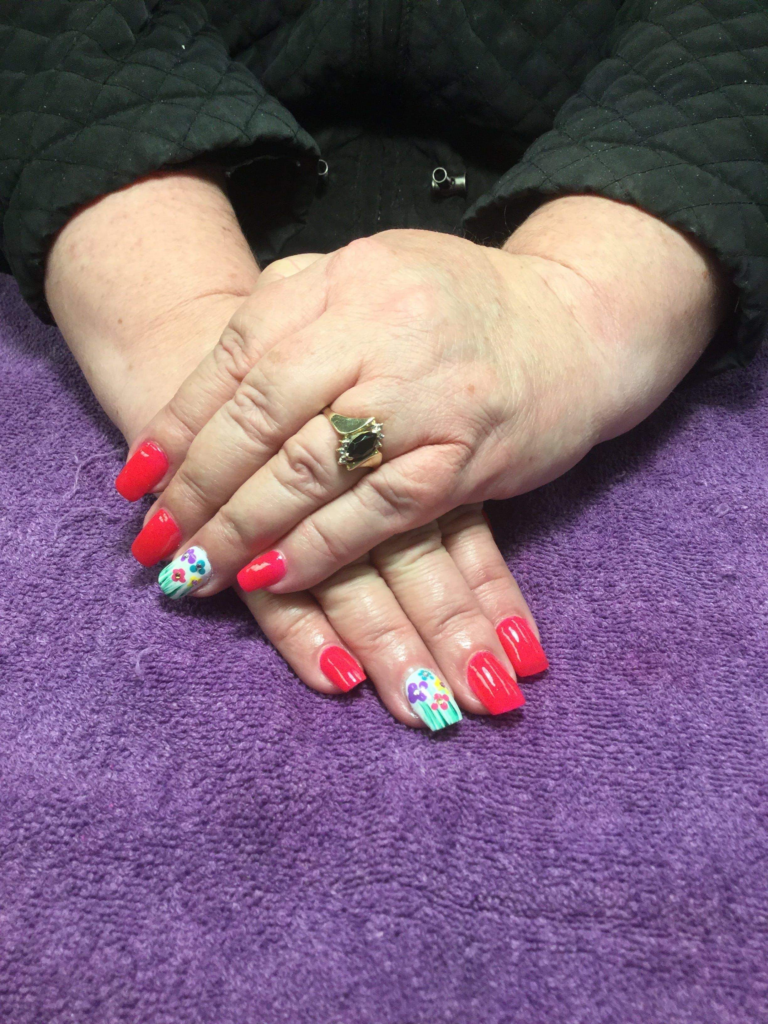 Free stock photo of #nails