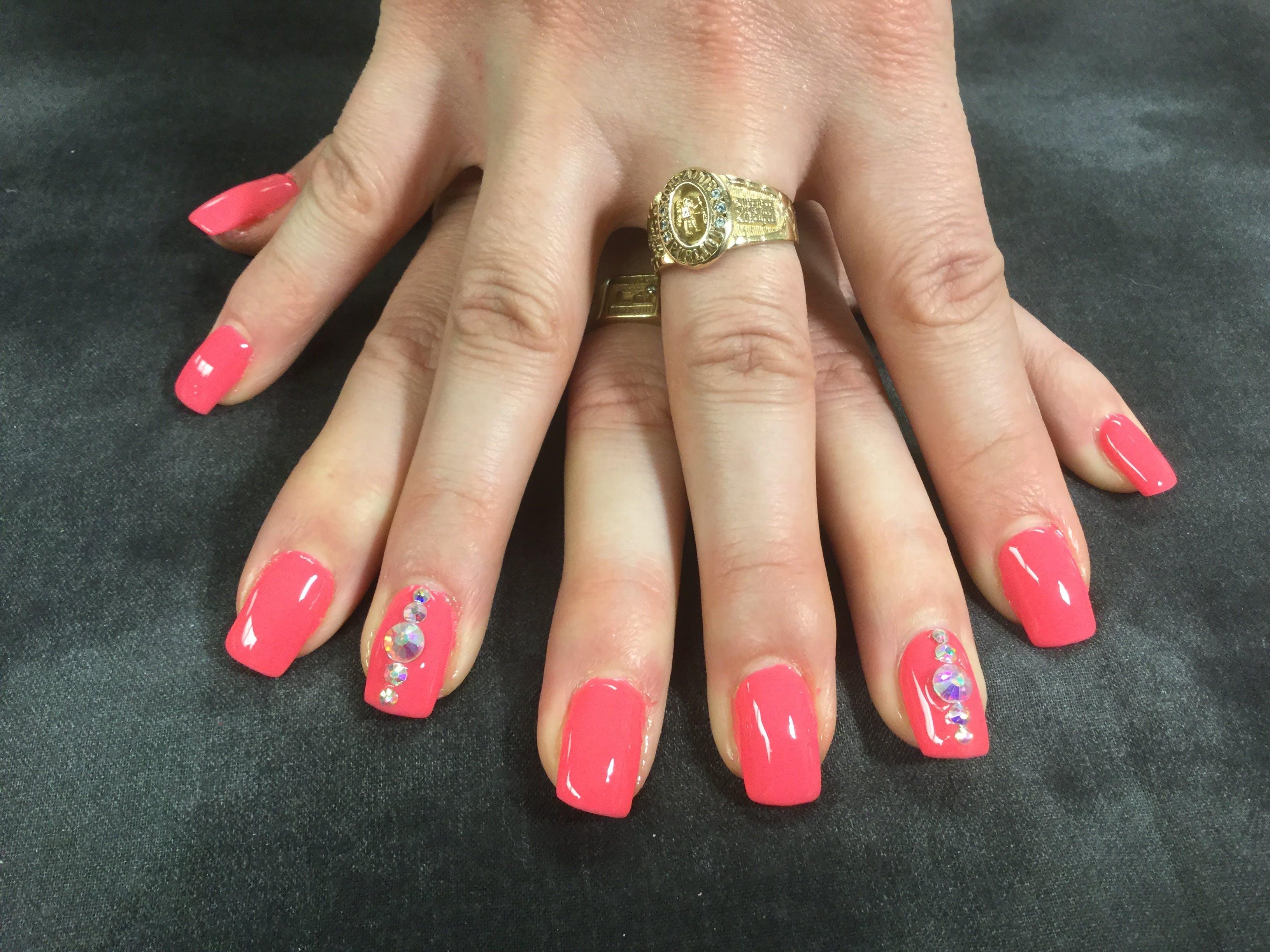 Free stock photo of #blingnails #nails