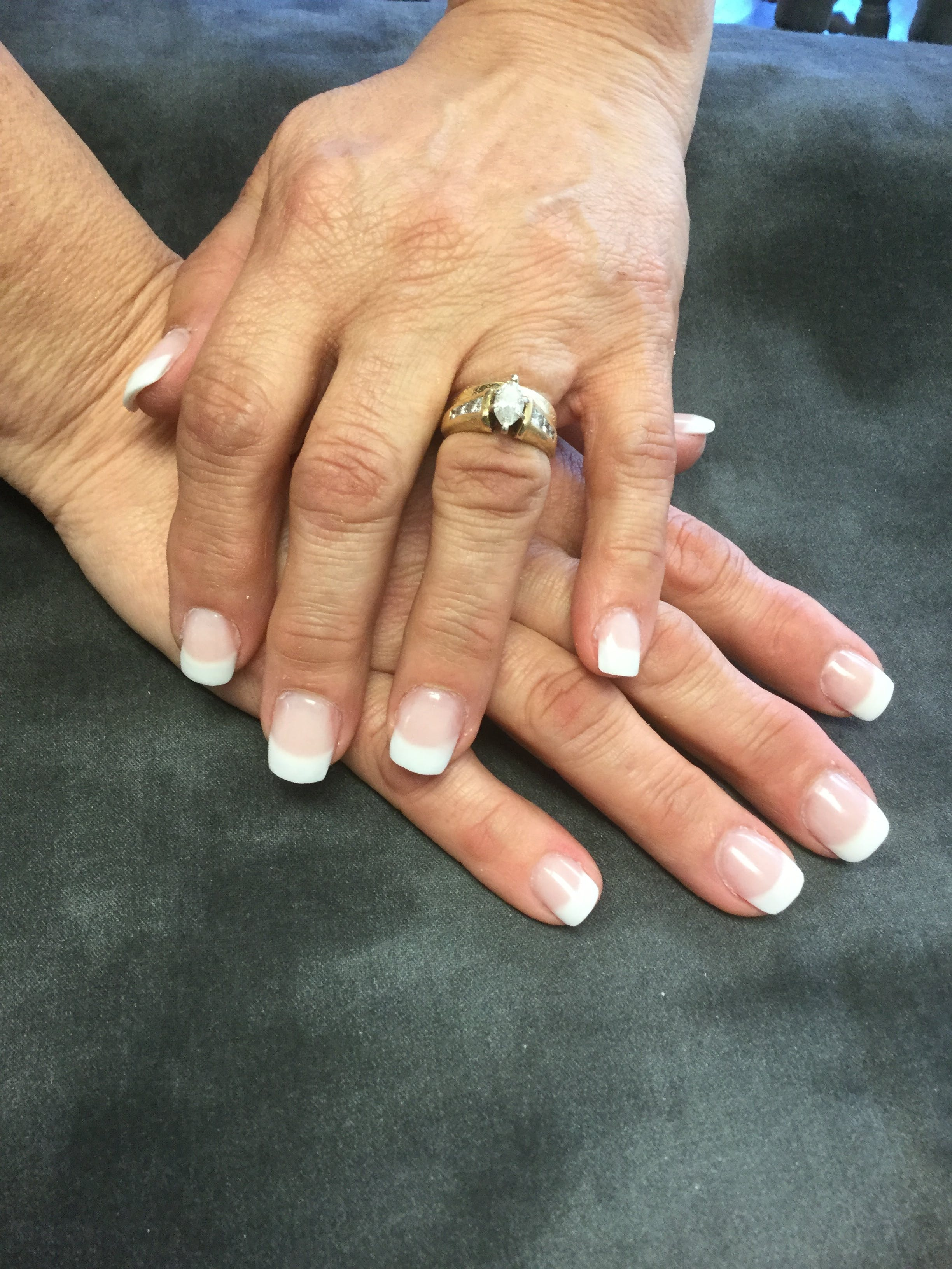 Free stock photo of #frenchmanicure #nails