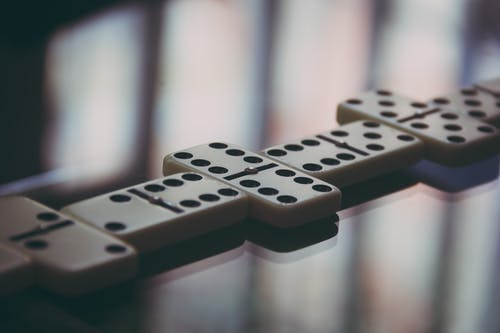 Shallow Photo of Domino Blocks