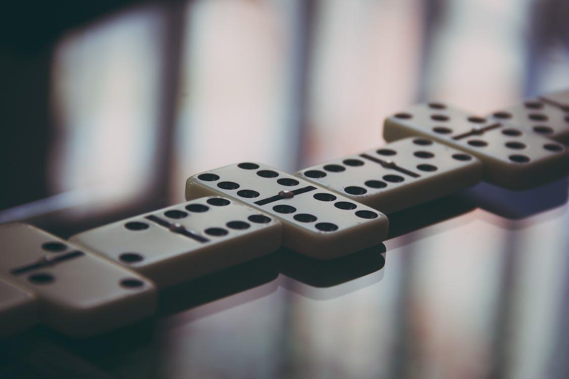 Shallow Photo of Domino Blocks