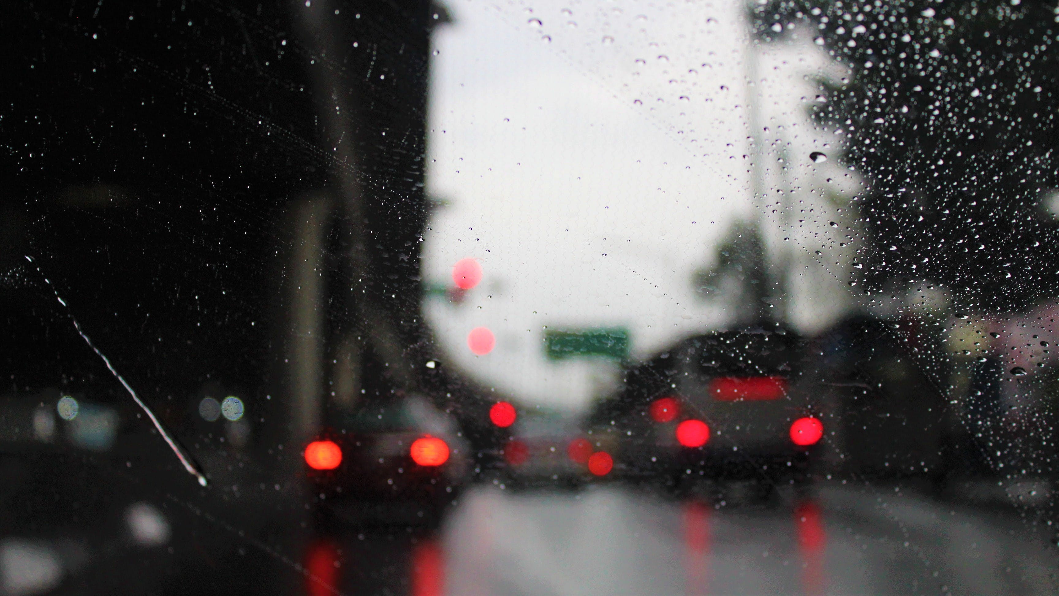 Free stock photo of after the rain, car, drive, driveway