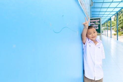 Immagine gratuita di bambino, sorridente