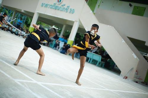 Immagine gratuita di bambini, muay thai