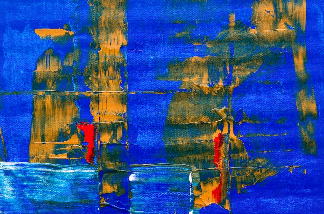 abstrakti maalaus, ekspressionismi, harja