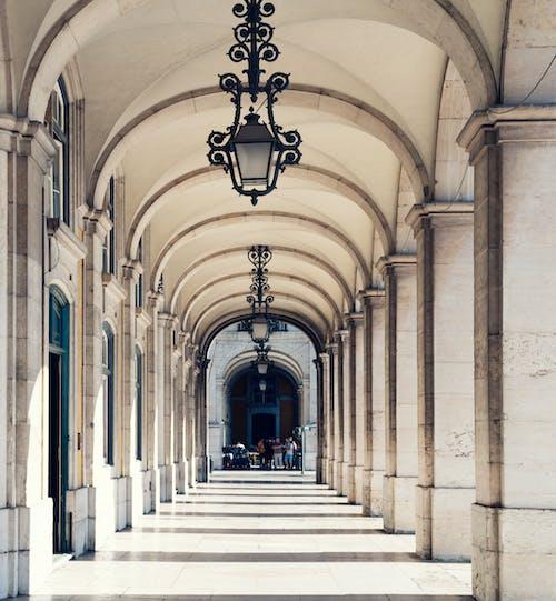 Základová fotografie zdarma na téma architektura, budova, oblouky, vedoucí