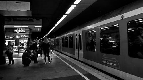 Free stock photo of hamburg, railway platform, train, underground