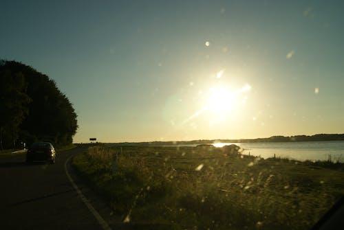 Free stock photo of denmark, horizon, road, seashore