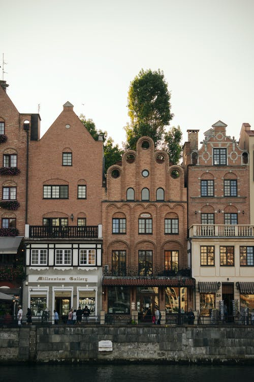 Free stock photo of boulevard, brick, city, old building
