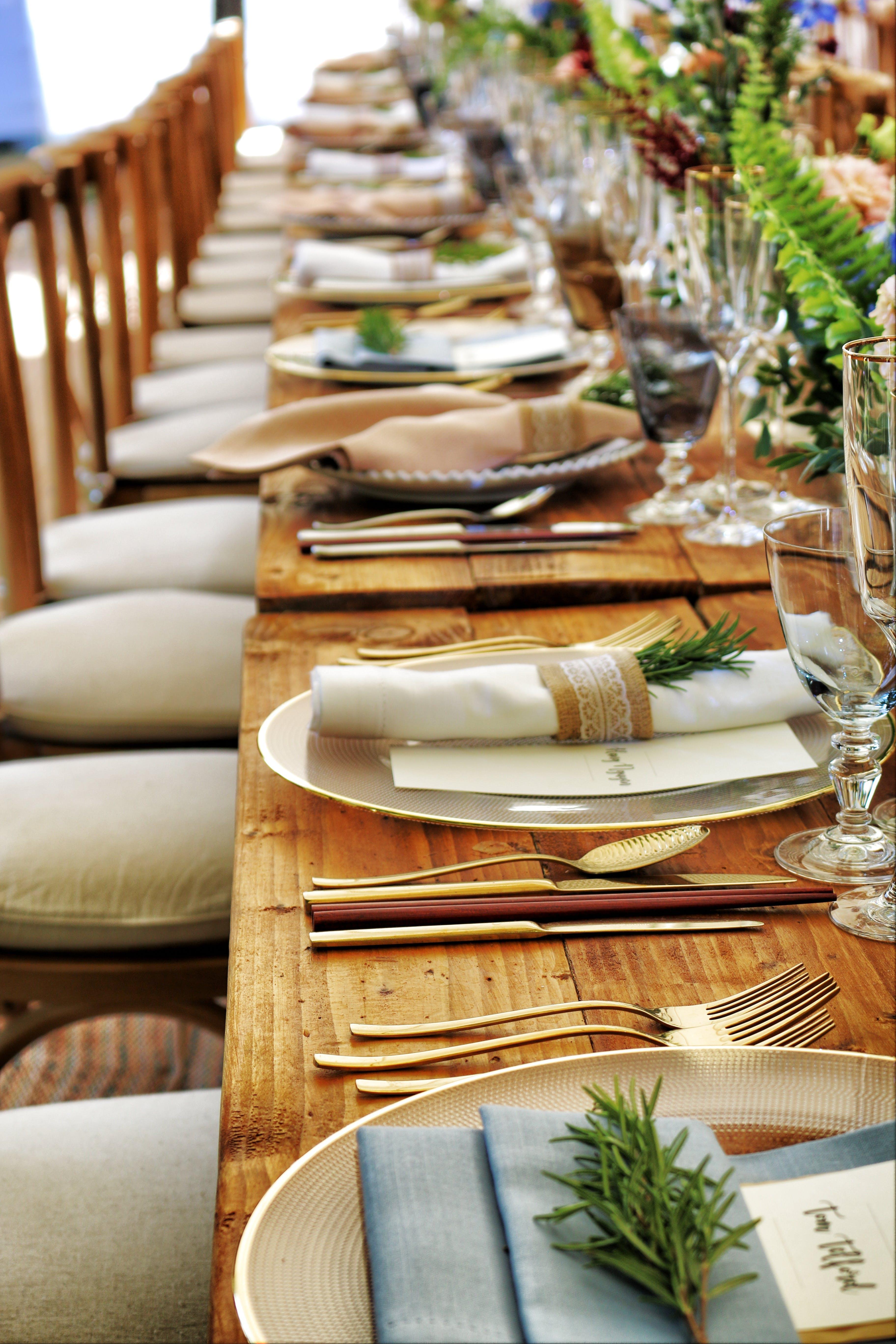 Základová fotografie zdarma na téma banket, catering, dřevěný, křesla