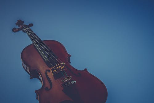 Free stock photo of antique, blue background, brown, music