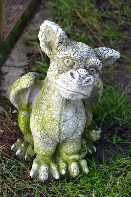 White Ceramic Animal Statue