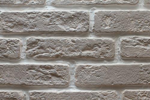 Gratis lagerfoto af baggrund, grå, mursten, tekstur