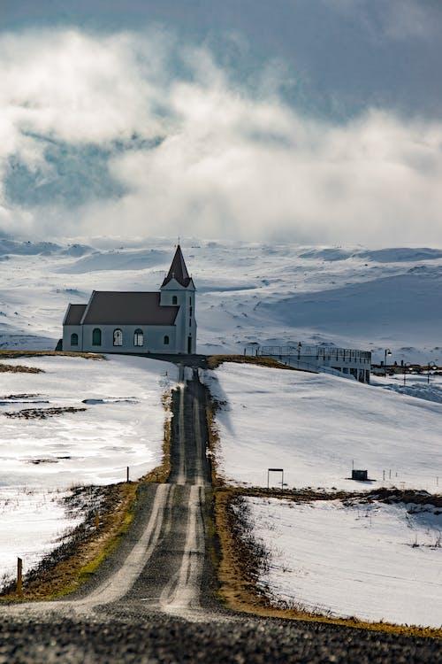 コールド, チャペル, 光, 冬の無料の写真素材