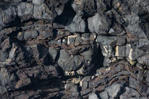Immagine gratuita di formazione geologica, grigio, islanda, lava