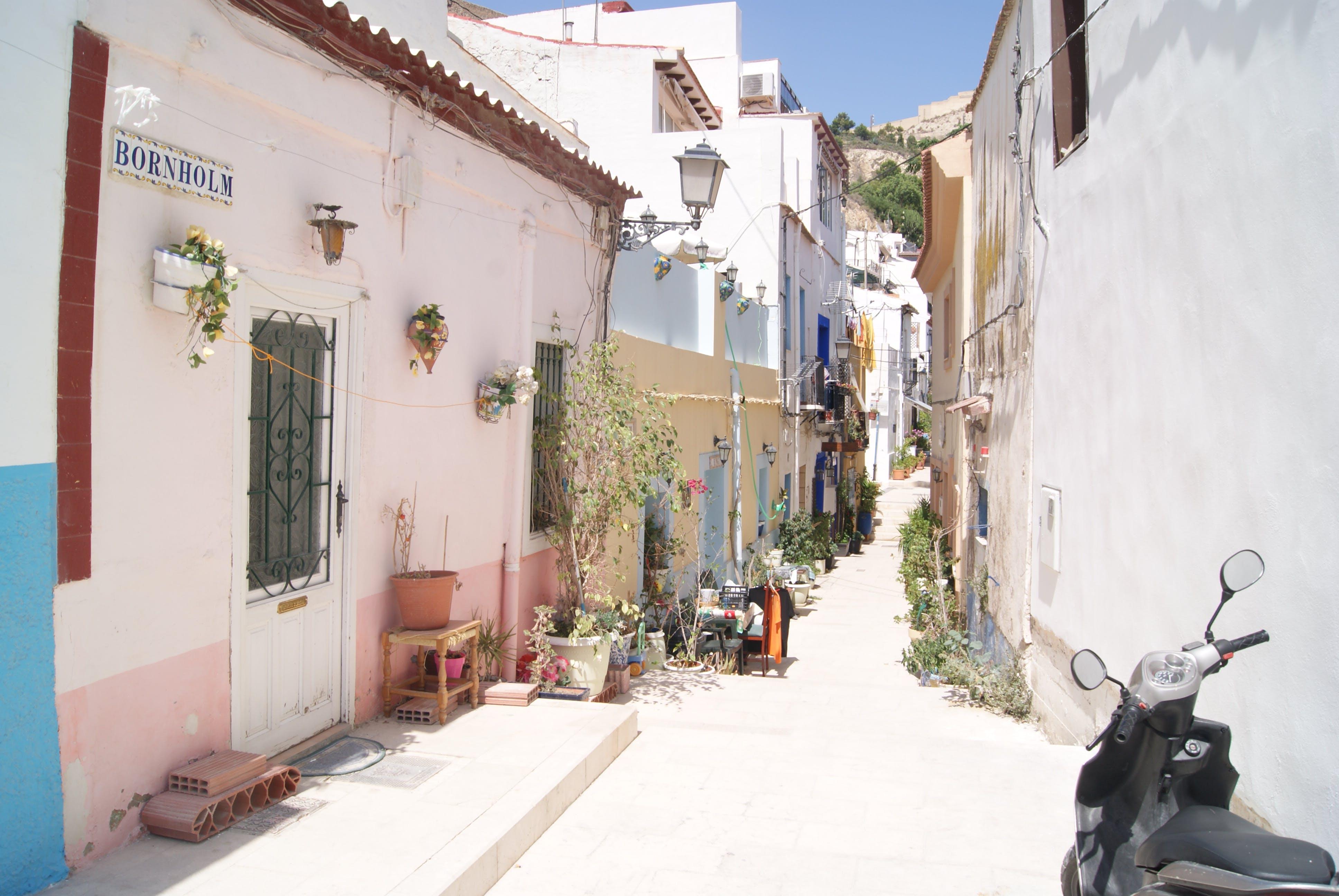 Free stock photo of narrow, spain, spanish, street