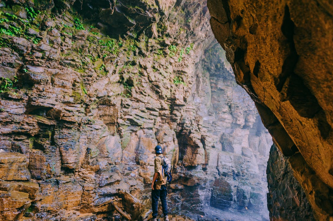 caillou, canyon, formation rocheuse