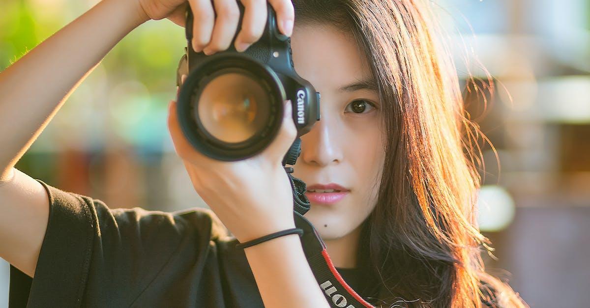 Woman Taking Photo Free Stock Photo