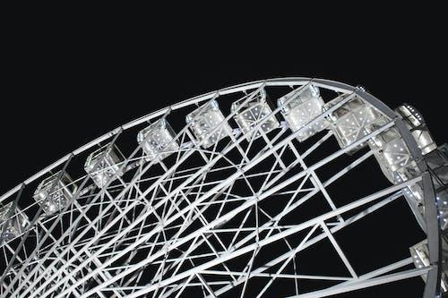 Ingyenes stockfotó acél, alacsony szögű felvétel, design, ég témában