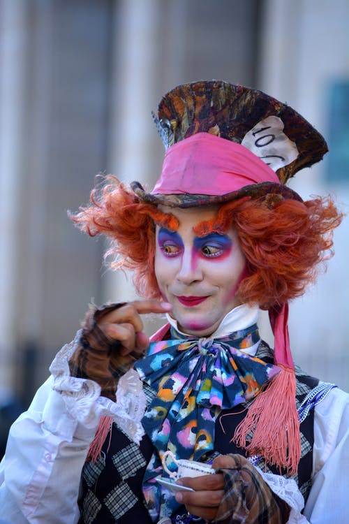 Mad Hatter Cosplayer