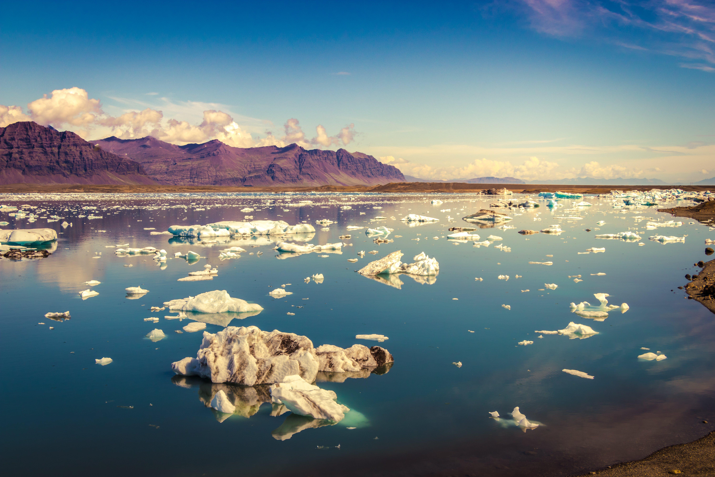 Gratis lagerfoto af bjerg, glacier national park, gletsjer, himmel