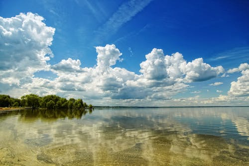 Free stock photo of cloud, clouds, horizon, mirror