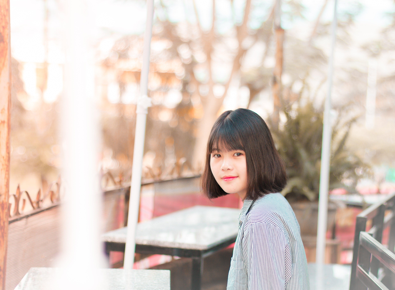 Základová fotografie zdarma na téma asiatka, asijská holka, dívání, focení