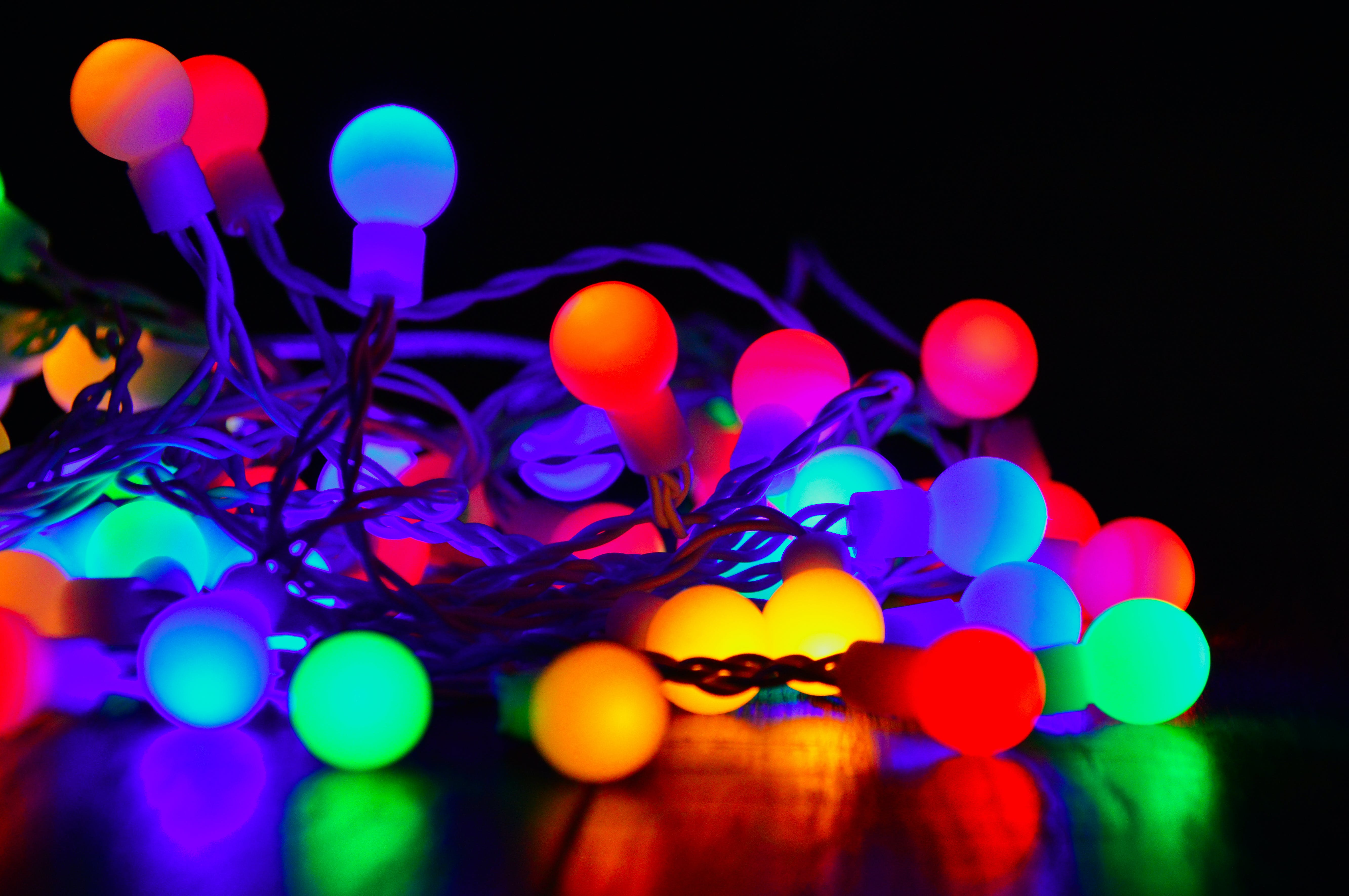 Multicolored Link Light Decor