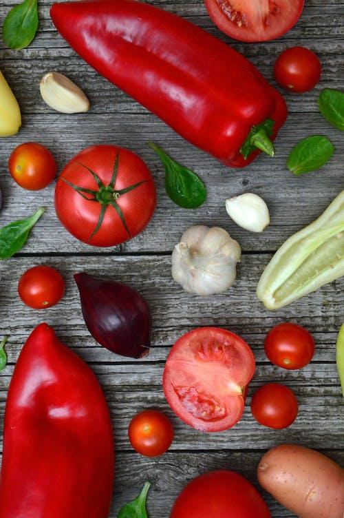 Ảnh lưu trữ miễn phí về bàn gỗ, bó, bổ dưỡng, cà chua