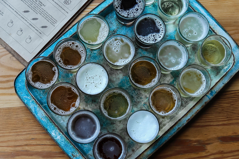 Kostnadsfri bild av alkohol, alkoholhaltiga drycker, bricka, bryggeri