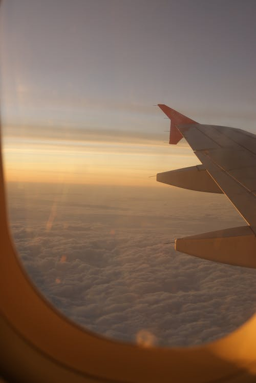 Безкоштовне стокове фото на тему «Windows, крило, літак, небо»