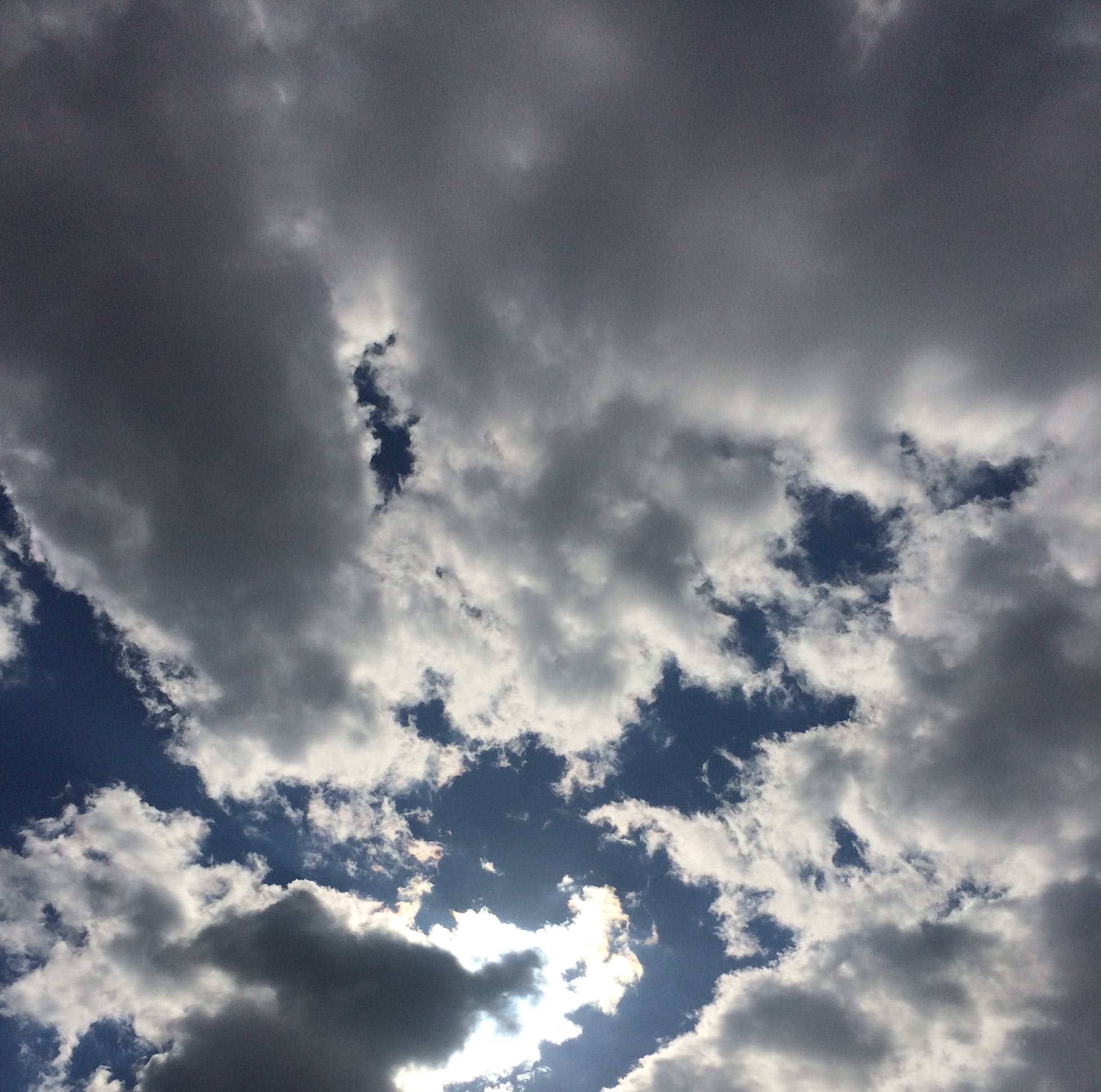 Free stock photo of cloudy sky