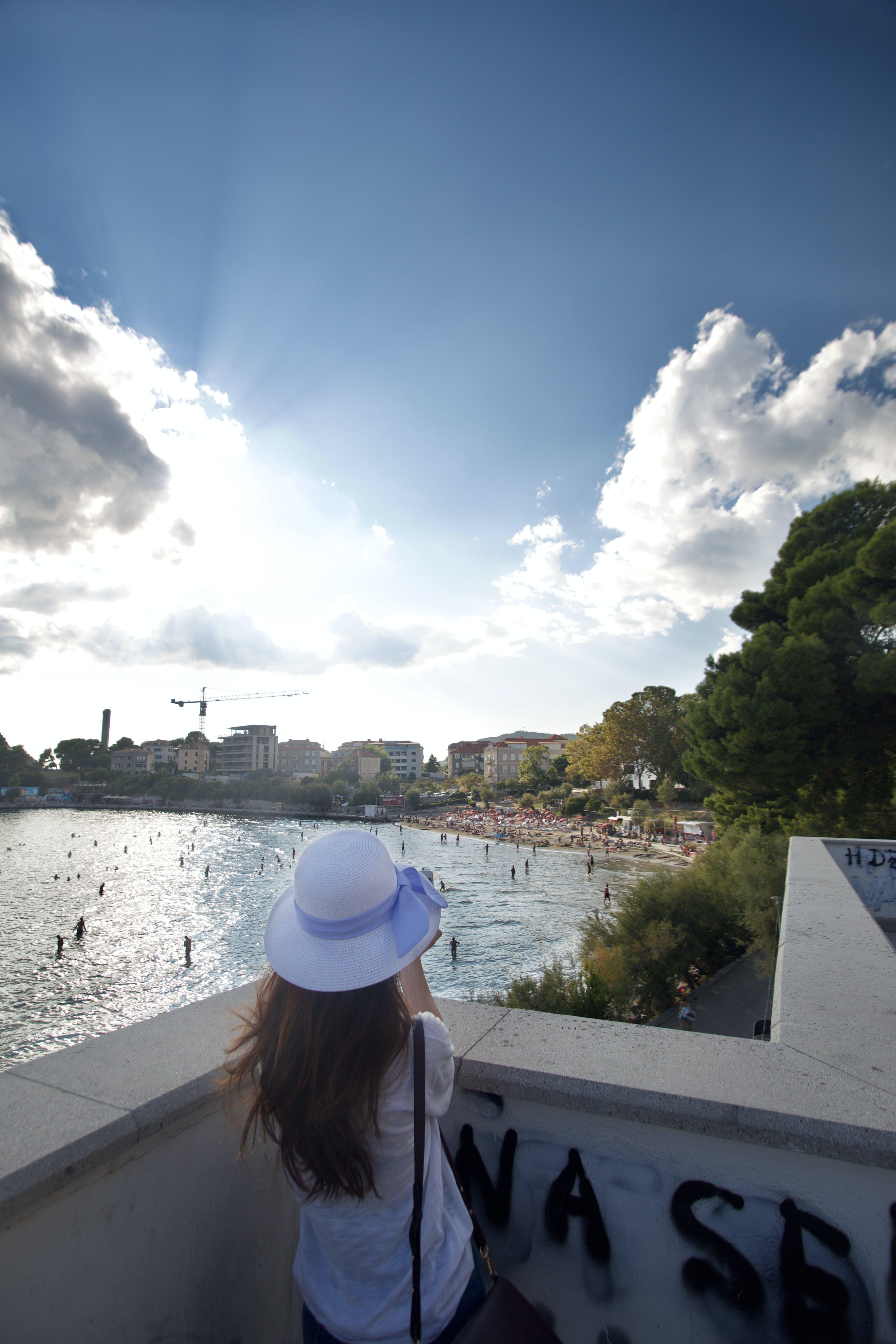 Free stock photo of adriatic sea, beach, blue, cloud