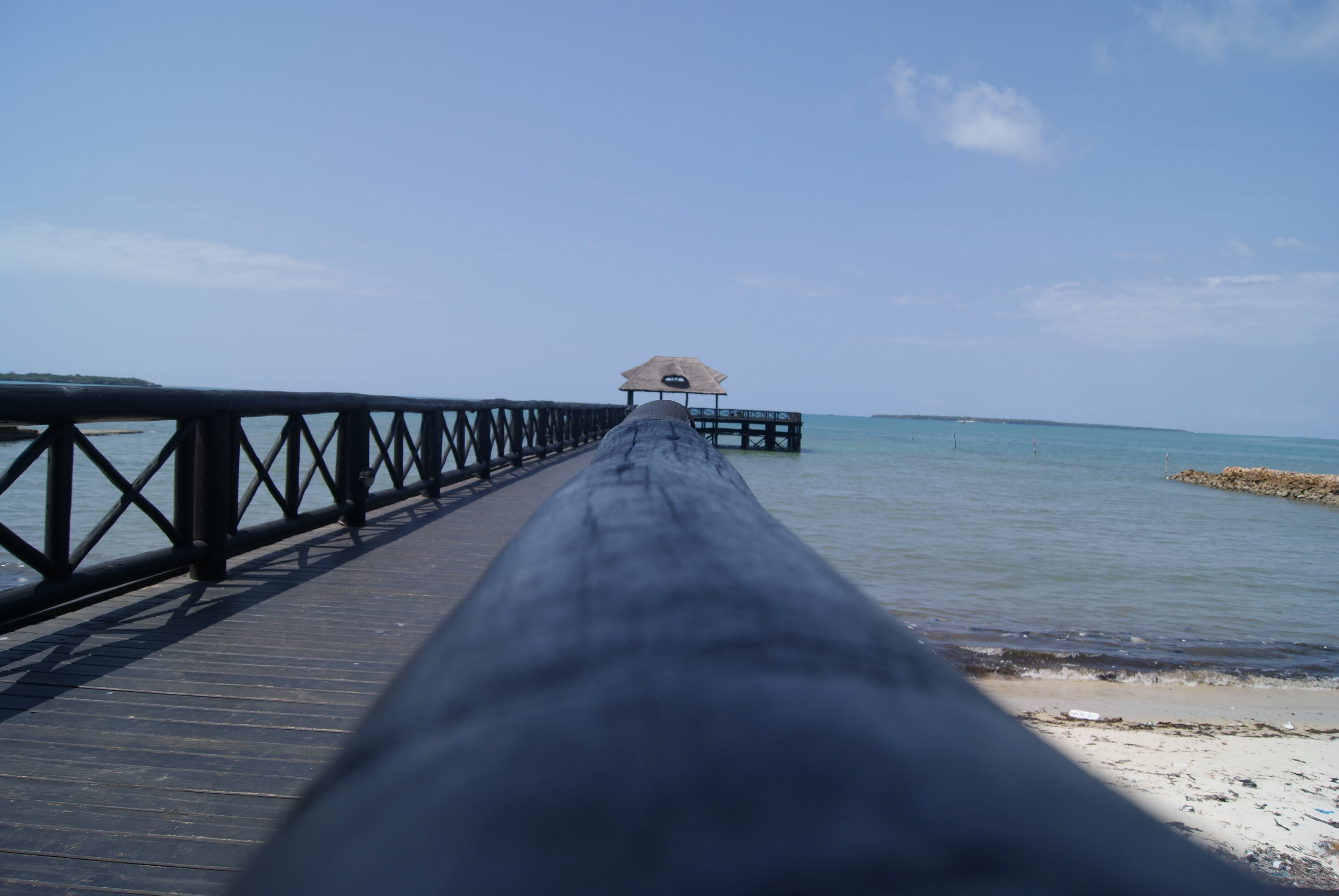 Free stock photo of beach, boardwalk