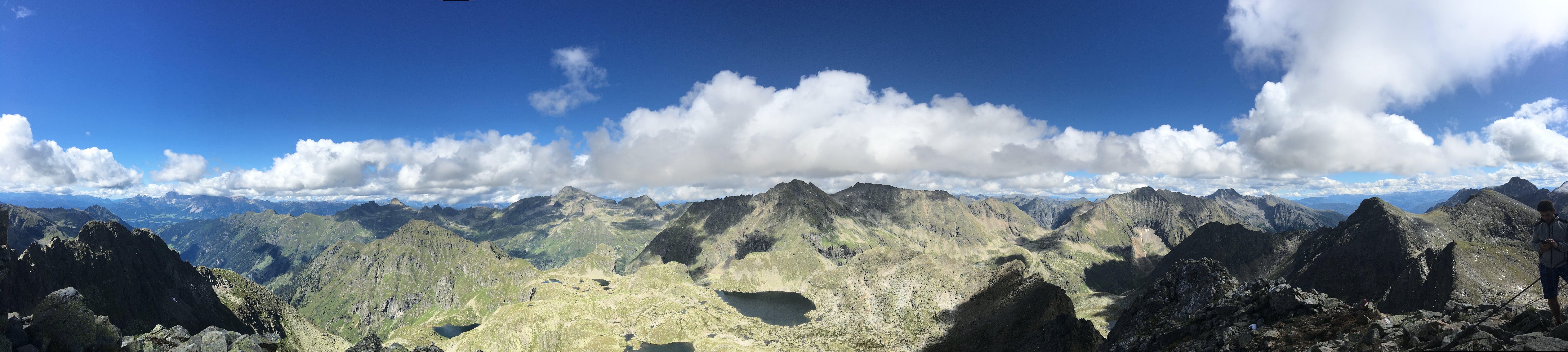 Panorama Photo of Mountains