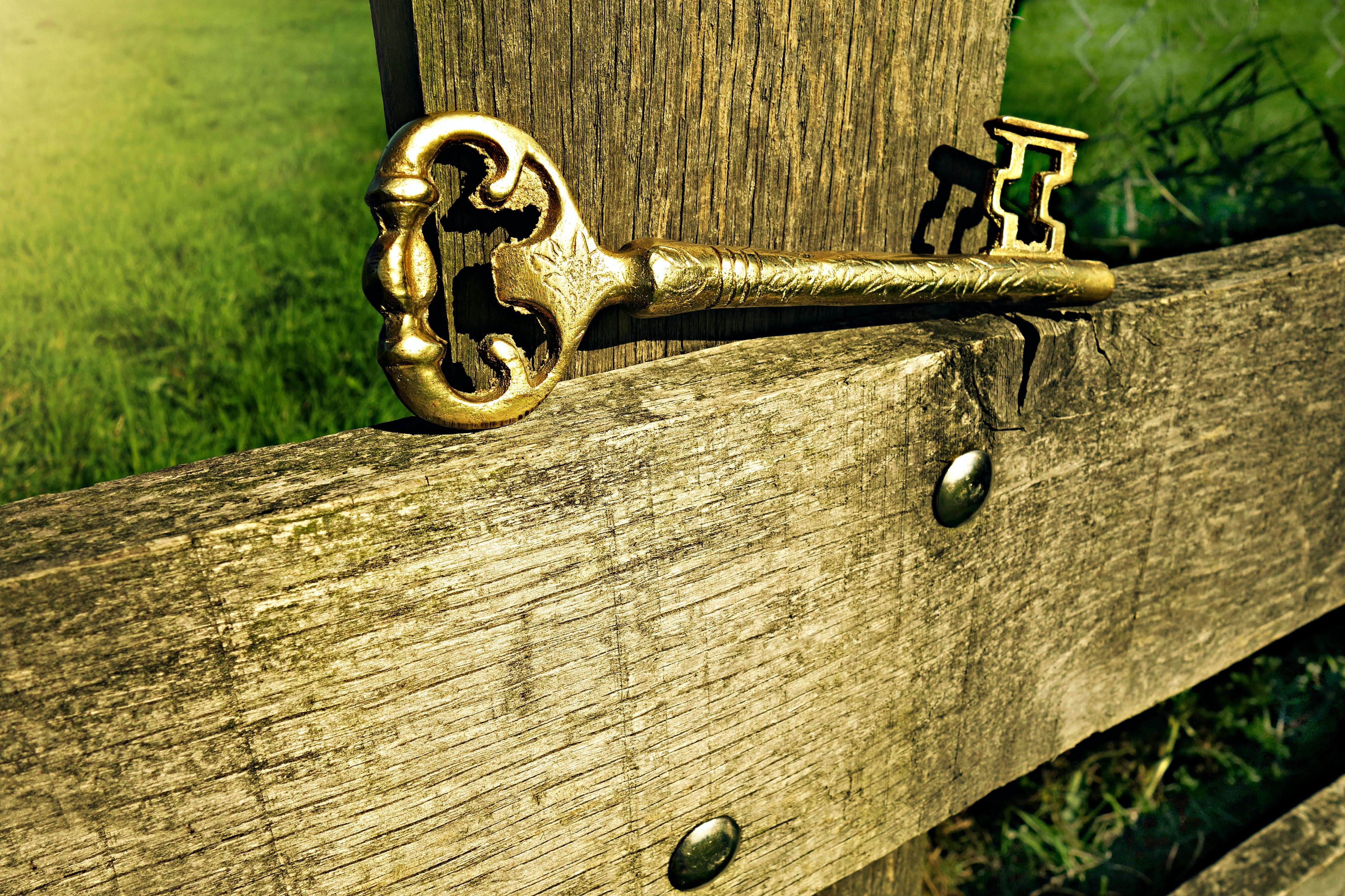 Free stock photo of wood, metal, vintage, gate