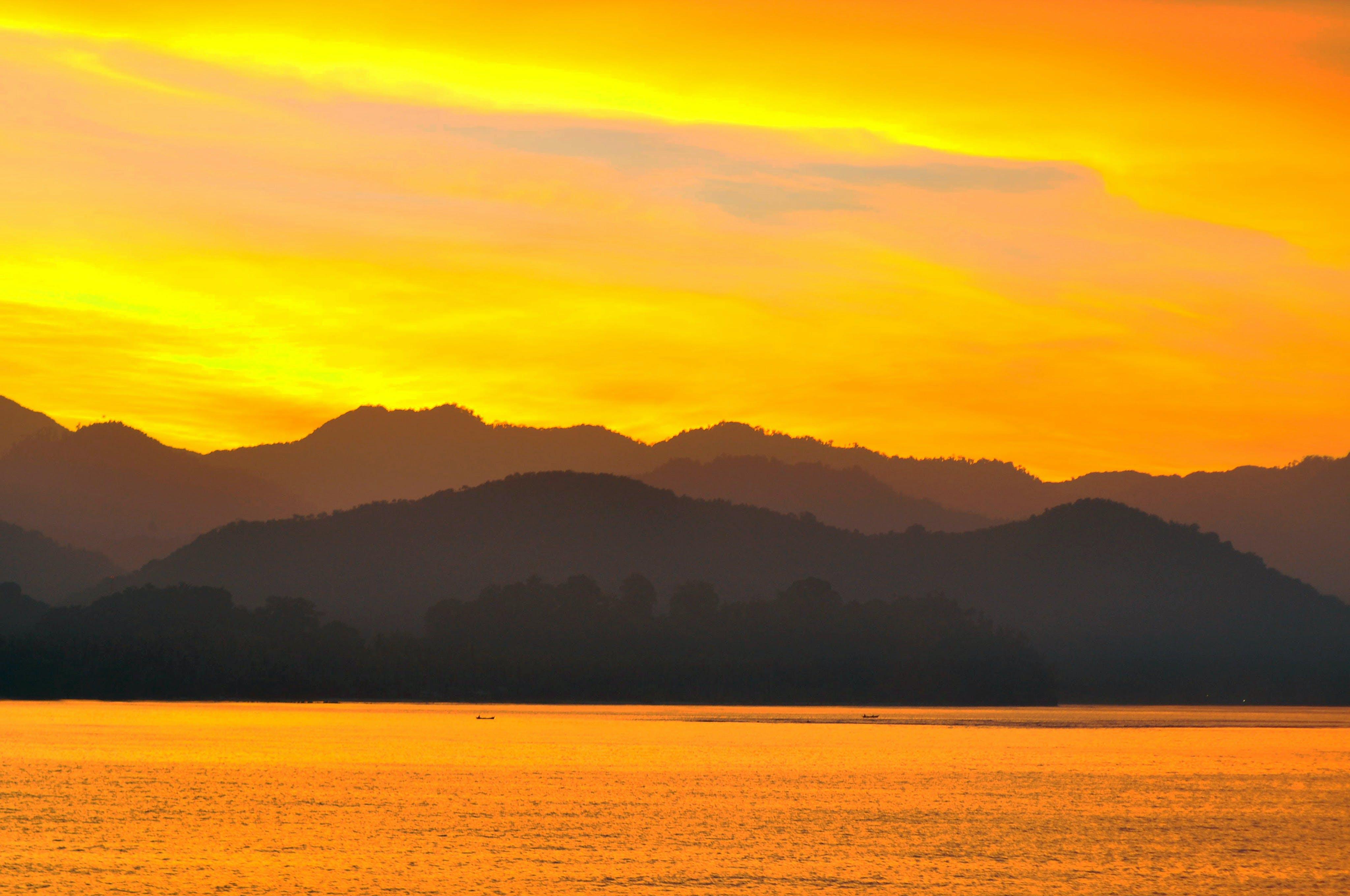 Free stock photo of #sunset #landscape