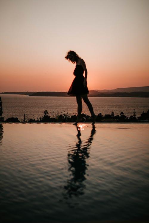 Free stock photo of expolore, girl, posing, shadow
