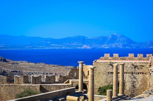 Immagine gratuita di acqua, antico, architettura, castello